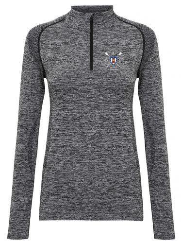 Gravesend RC Women's Long Sleeved Performance Zip Top