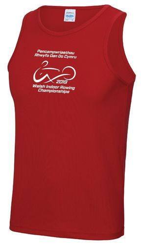 Welsh Indoor Rowing Men's Vest 2019