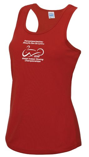 Welsh Indoor Rowing Women's Vest 2019