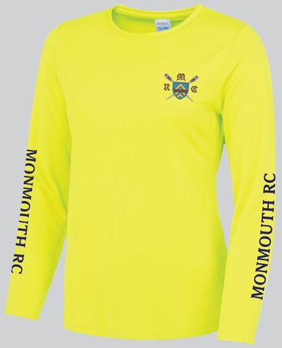 Monmouth RC Women's Electric Yellow Long Sleeved Cool T