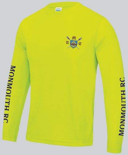 Monmouth RC Men's Electric Yellow Long Sleeved Cool T