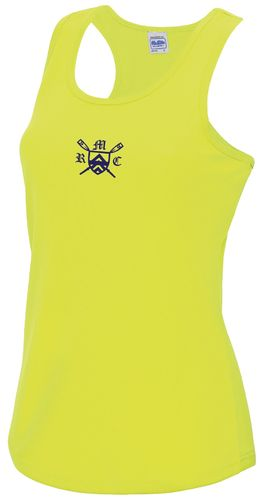Monmouth RC Women's Electric Yellow Vest