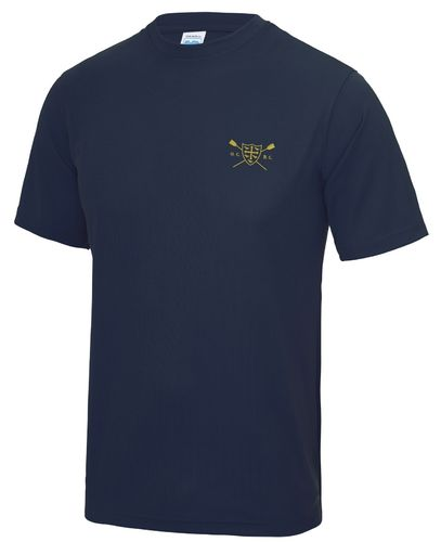 UCBC Men's Navy Tech T-Shirt