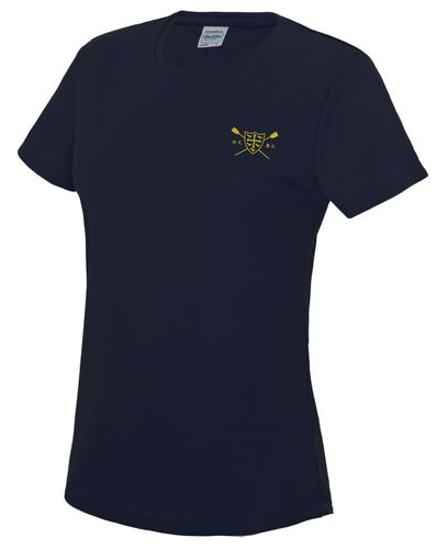 UCBC Women's Navy Tech T-Shirt
