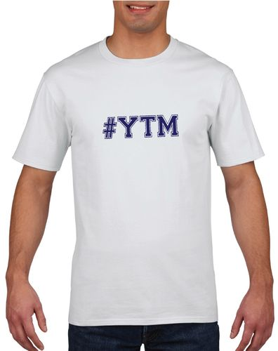 #YTM White T-Shirt