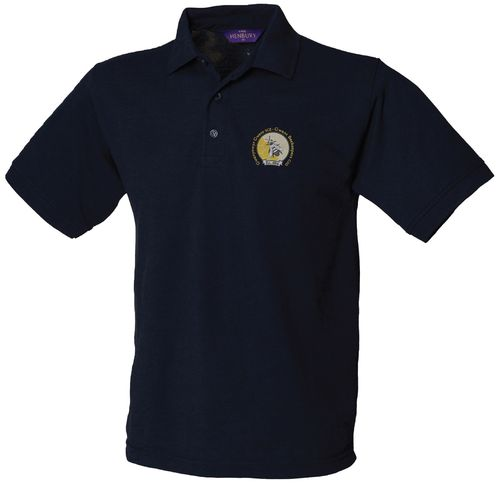 Gwent Beekeepers Men's Navy Polo Shirt