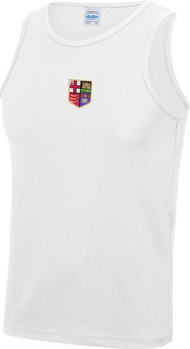 London RC Men's White Training Vest
