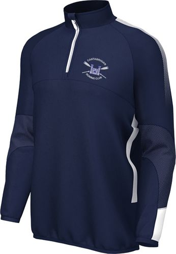 Cantabrigian RC 1/4 Zip Fleece lined midlayer