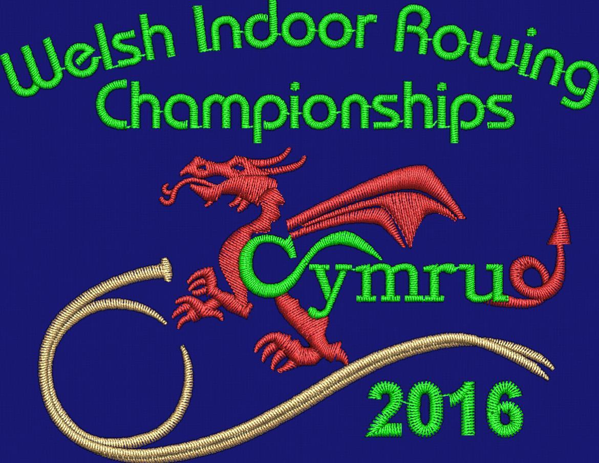 Welsh Indoor Rowing Champs Clothing